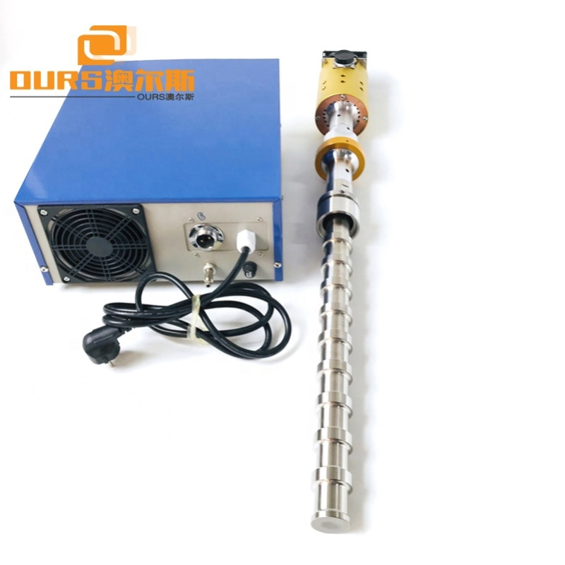 20KHz Ultrasonido Tubular Reactor 2000W Ultrasonic Homogenizer Sonicator Processor Cell Disruptor Mixer