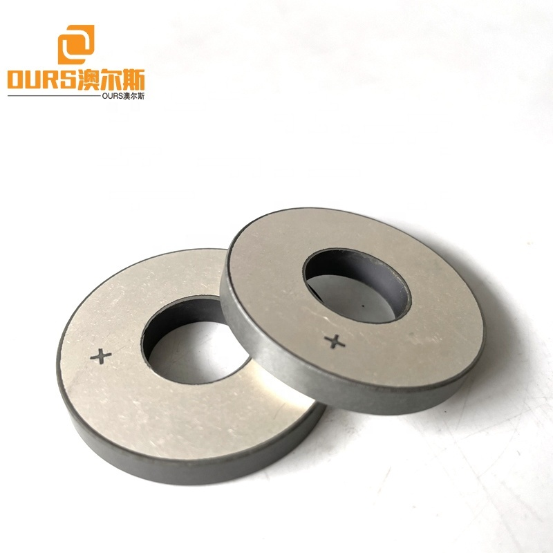 High Frequency Different Polarization Direction Piezo Ring Vortex Ceramic 38*15*5mm Piezoelectric Ceramic As Sensor Parts