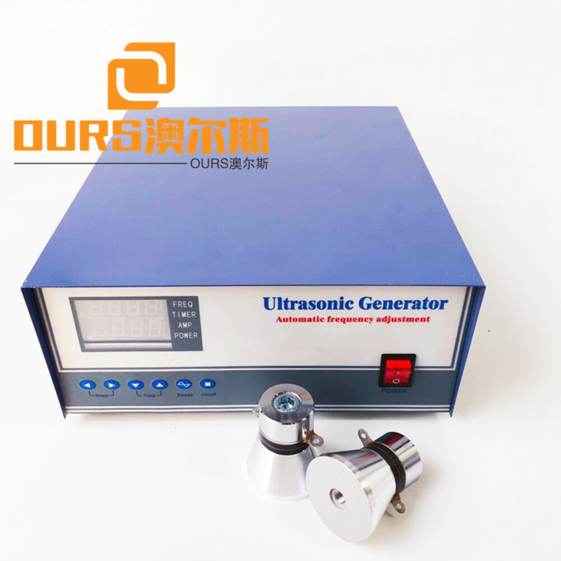 2020 hot selling sine wave ultrasonic generator with auto frequency tracking and degassing  1800w 40khz