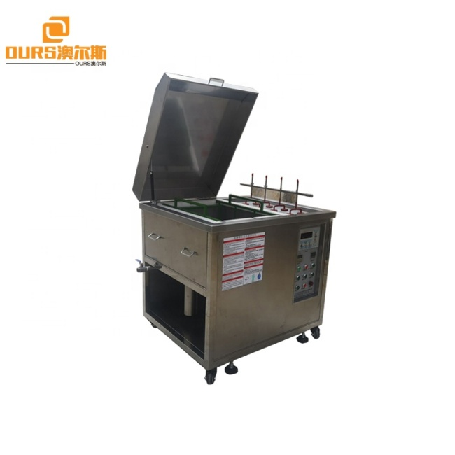 Plastic Mold-Ultrasonic  Cleaning Equipment 28Khz 3500W For Electrolytic Cleaning Of Copper Casting Mold