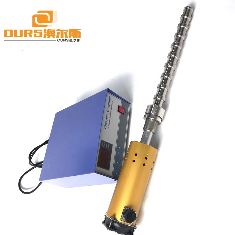 Liquid Application And Ultrasonic Low Temperature Extraction Concentrator 600W-2000W 20KHz Herb Extraction Machine