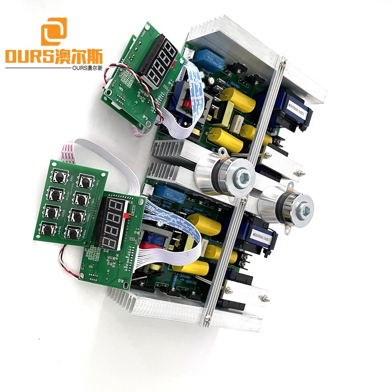 28KHZ 300W Digital Ultrasonic Circuit Power Board With Thermostat Controller Used On Bearing Nozzle/Metal Parts Clean Machine