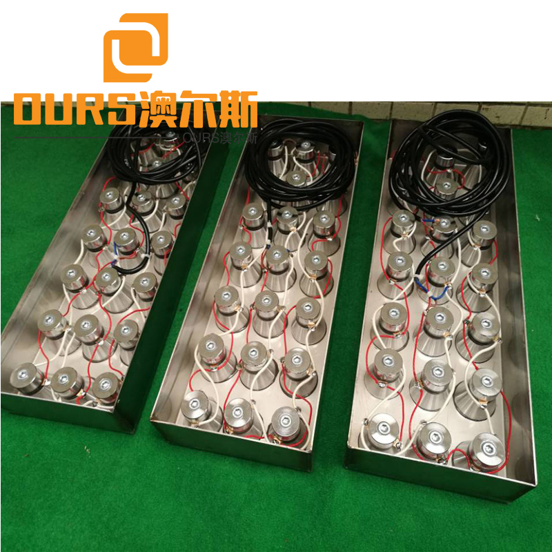 Factory Product 60Khz High frequency 1000W Sonic Bath Transducer Box with Flexible Tube
