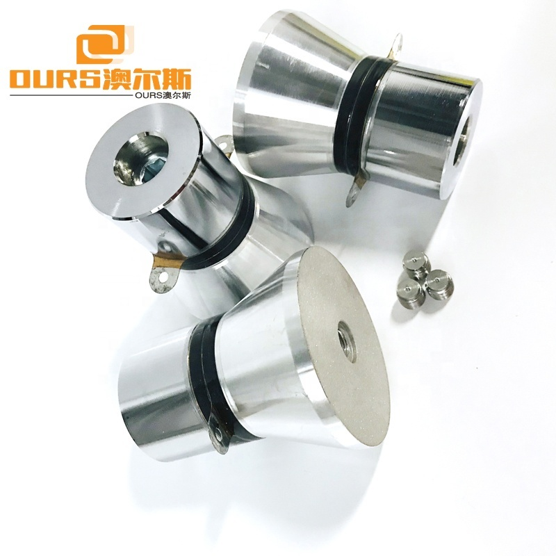 Piezoelectric Ceramic Ultrasonic Cleaning Transducer 25KHz 100W PZT-4 High Power Ultrasonic Vibration Transducer