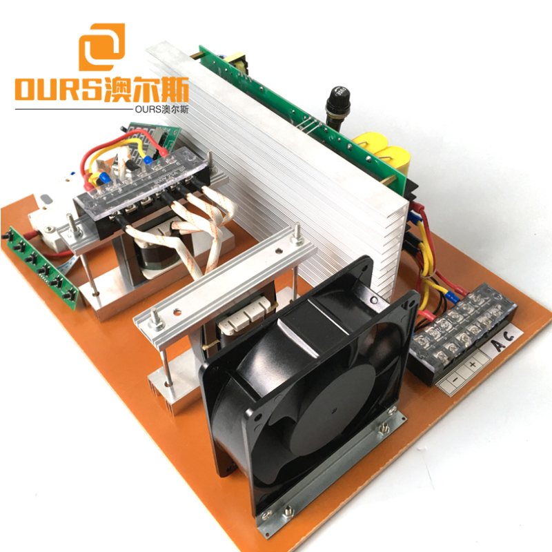 28KHZ-40KHZ 1800W Ultrasonic Transducer Tank Generator PCB Board For Cleaning Automobile Parts