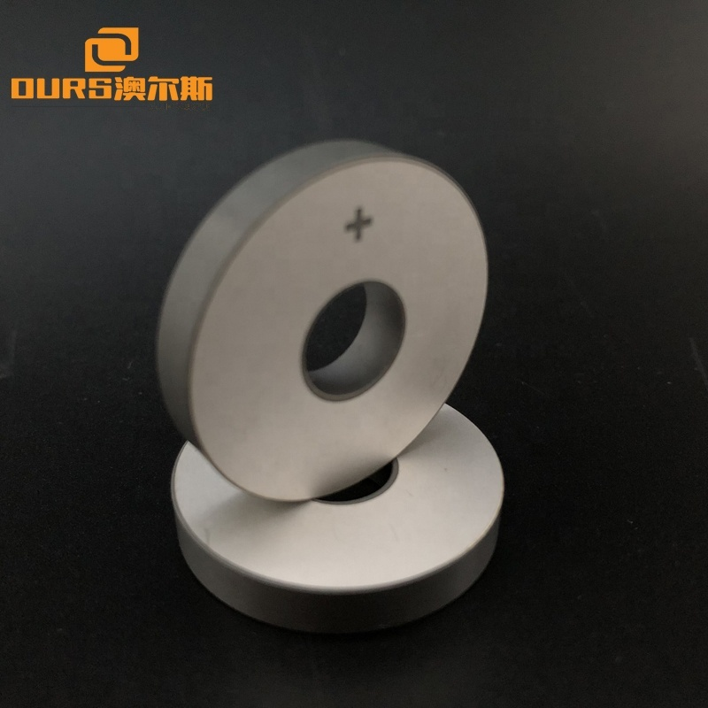 Piezoelectric Components PZT Material 30*10*5mm Ring Piezo Ceramic