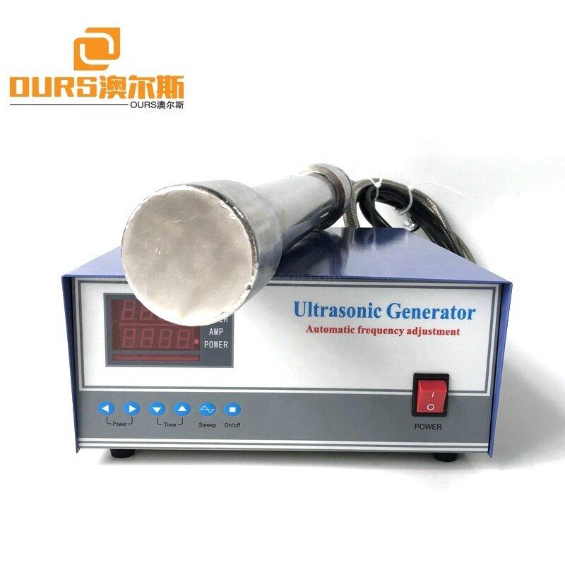 316 Stainless Steel  Ultrasonic Submersible Sensor Pipe 900Watt Cleaning Pipeline / Bath/ Kettles Tubular Immersion Transducer