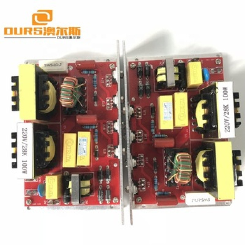 120w 40khz  Ultrasonic Generator  PCB for ultrasonic washer with 2 transducers