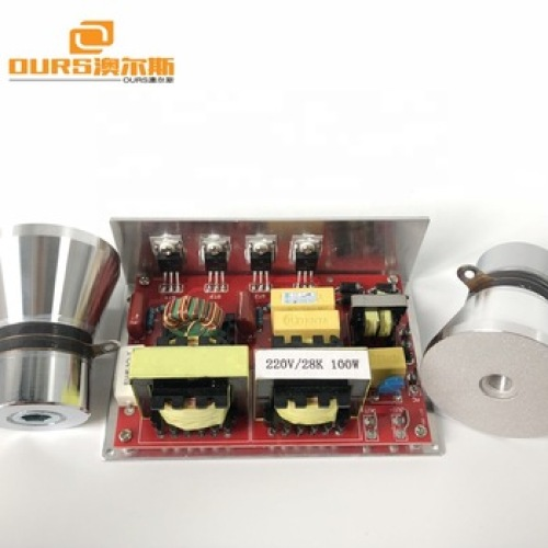 120w Ultrasonic Generator  PCB for cleaning tank  price include 2 transducers  28khz