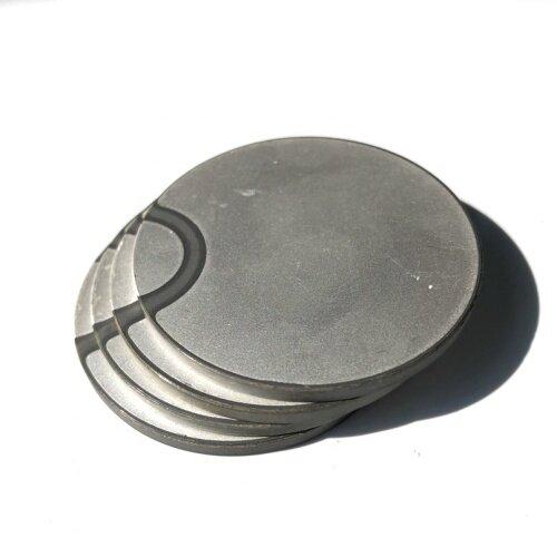 Piezo Transducer Accessories Disc Piezoelectric Ceramic 50x3MM Piezoceramic Element As Ultrasonic Transducer Piezoelectric Parts