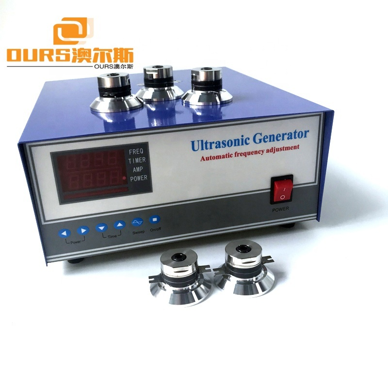 20-40KHz 2400W Industrial Ultrasonic Signal Power Frequency Generator for Ultrasonic Cleaning Equipment