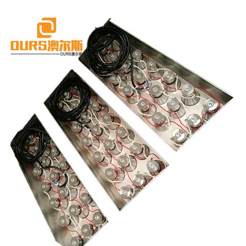 According Your Needs Custom-Made Waterproof Ultrasonic Immersible Transducer Board Industrial Ultrasonic Cleaning Equipment