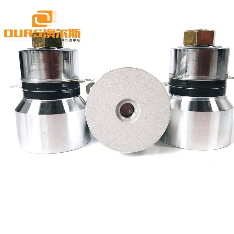 60W 68KHz High Frequency Ultrasonic Equipment And Metal Parts Cleaning Transducer