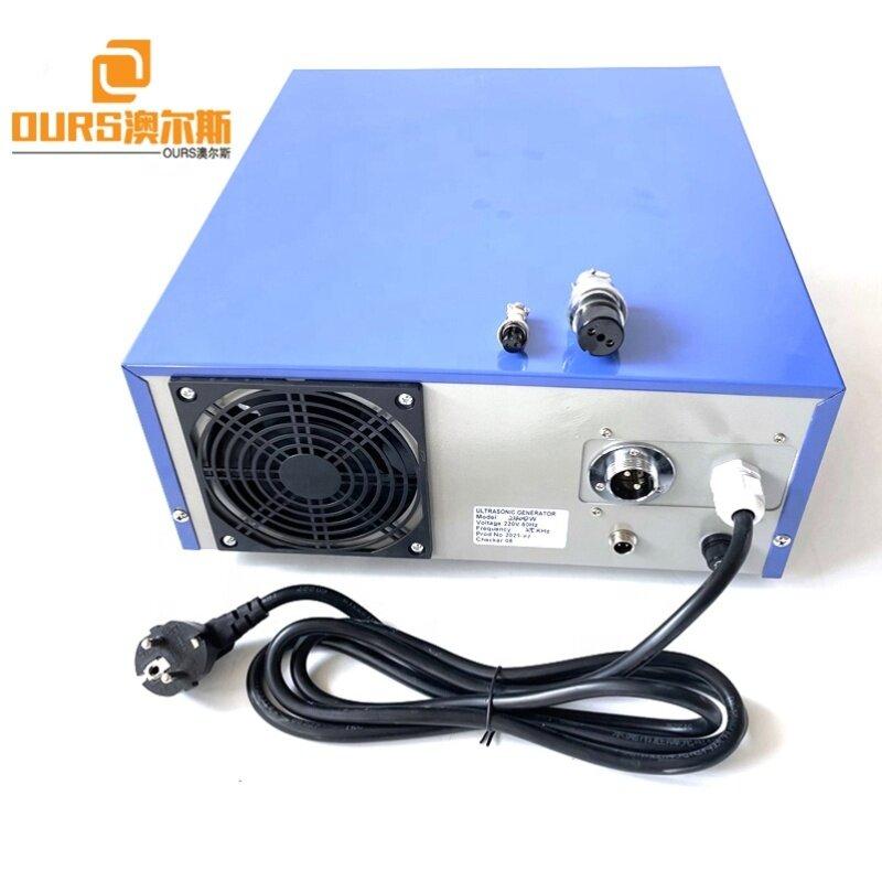 25KHZ 1800W Ultrasonic Washing Machine Generator For Compressor Parts Mould Clean Equipment