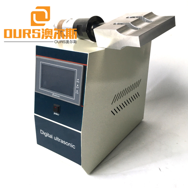 Hot Sales 20KHZ 2000W Ultrasonic Welding Transducer With Control Supply Generator For 3M Mask Machine