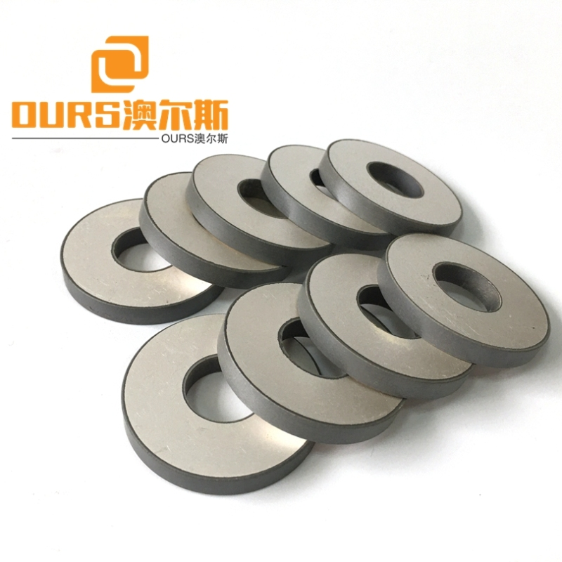 High Mechanical Strength 50*17*6mm Pzt Ultrasonic Piezo Ceramic Ring For 15KHZ/20KHZ Piezoelectric Welding Vibration Sensor