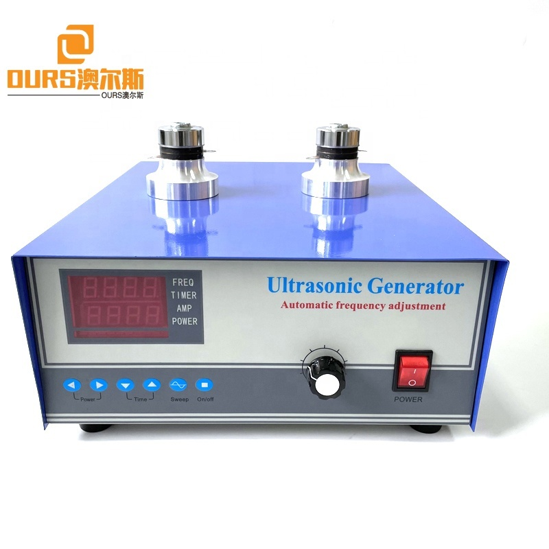 1200W 25K 28K 33K 40K Single Frequency Ultrasonic Generator For Driving Industrial Transducer Ultrasound Cleaning System