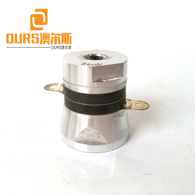 200khz Ultrasonic Cleaning Transducer Resonant High Frequency For Cleaning Parts