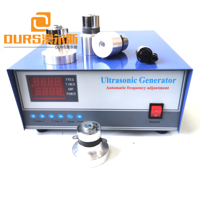40khz 1800W 220v Ultrasonic Generator For Cathode Ray Tube Cleaning Machine