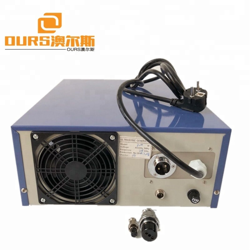 300w Professional  Leakage Protection Adjustable Frequency Ultrasonic Cleaning Generator