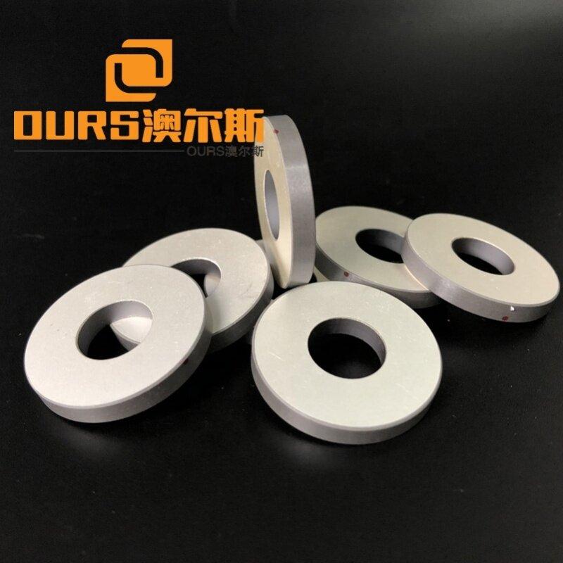 Piezo Ring Ceramic P4 Material 30*12*4MM Ultrasonic Piezoelectric Ceramic Used In Cleaning