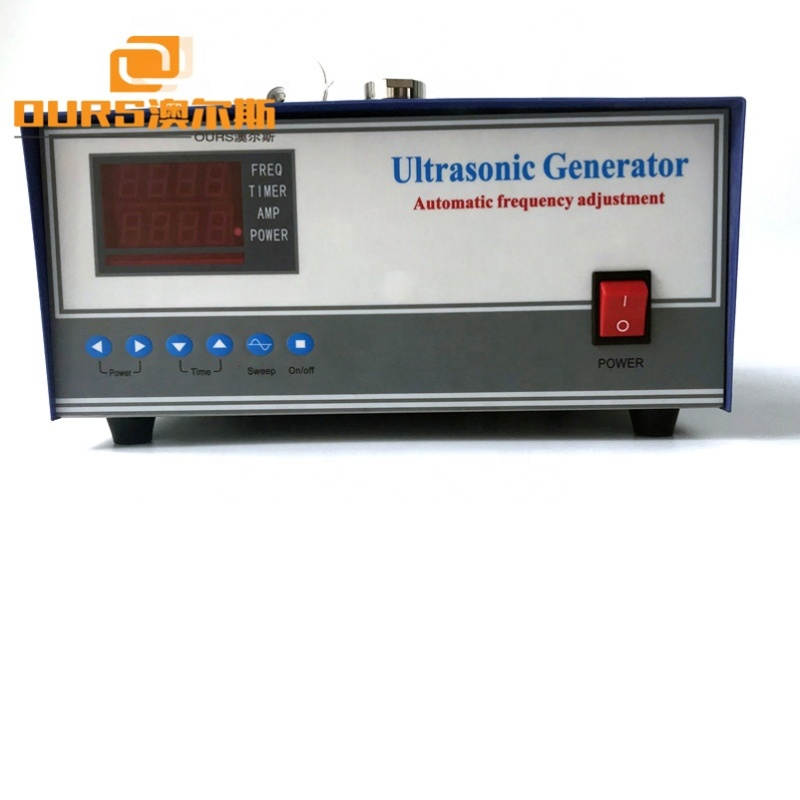 2000W Sweep Frequency Ultrasonic Signal Generator For Industrial Ultrasonic Cleaning Machine