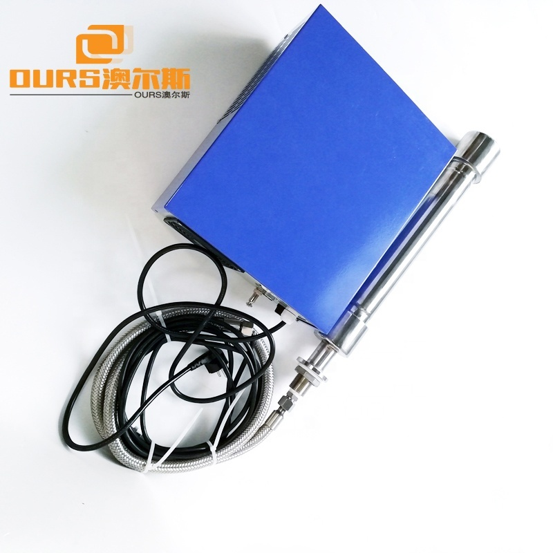 25KHz Stainless Steel Ultrasonic Tubular Transducer In The Tub Submersible Rods Transducer