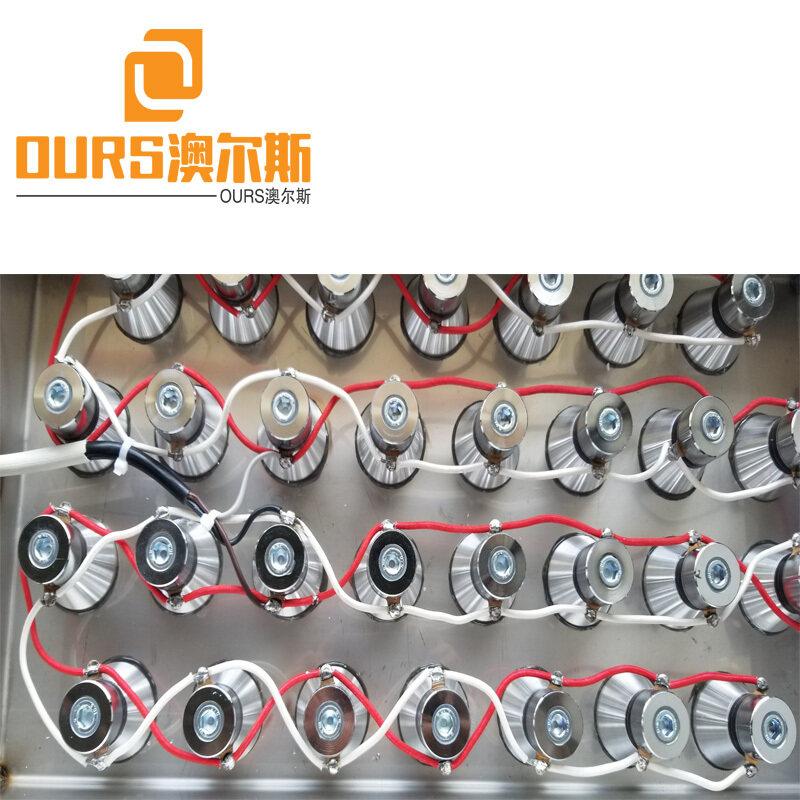 20KHZ/25KHZ/28KHZ/40KHZ  1500W Electroplating submersible ultrasonic transducers cleaning