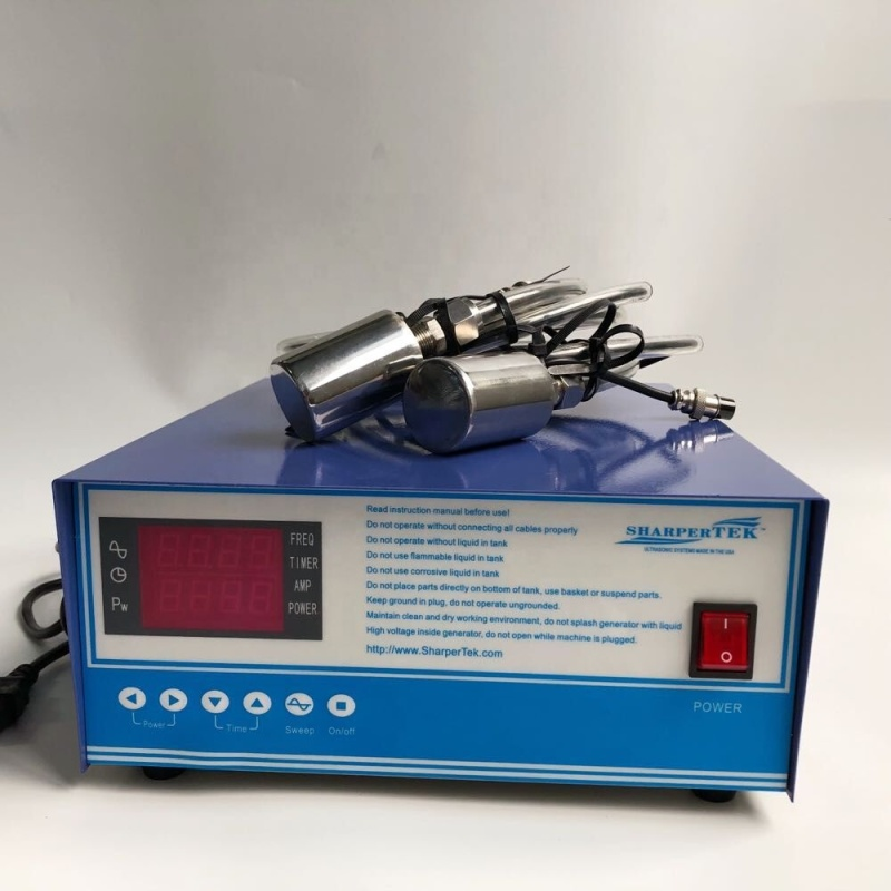 100W Magnetostrictive Ultrasonic Cleaning Transducer Prevent algae growth
