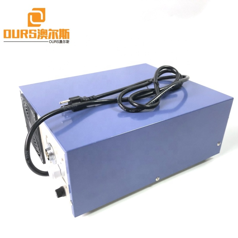 Industry Transducer Driving Power 1200W Ultrasonic Generator Cleaning Power Supply With Power And Frequency Adjustable With CE