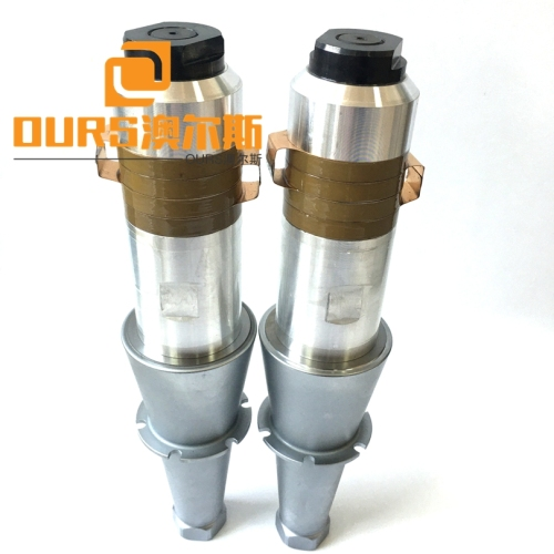 High Performance 15KHZ 2600WPZT8  Ultrasonic Welding Transducer With Booster For Ultrasonic Welding Machine