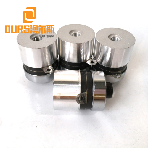 High Frequency 80KHZ 60W diy Ultrasonic Vibration Transducer For Cleaning Industrial Parts
