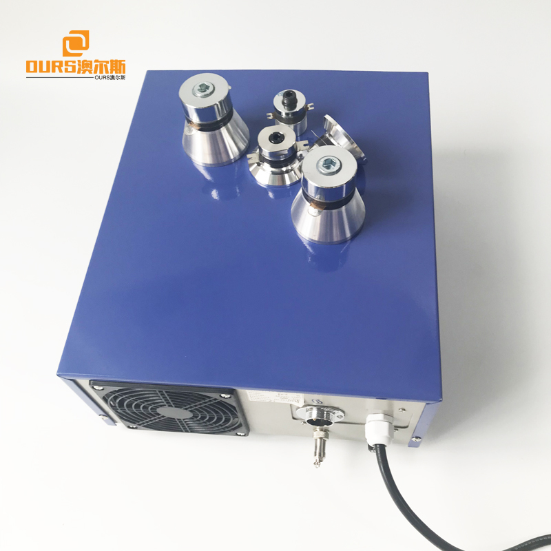 28KHz 33KHz 40KHz 600W Multi Frequency Ultrasonic Cleaning Generator For Driver Ultrasonic Submersuble Transducer Pack