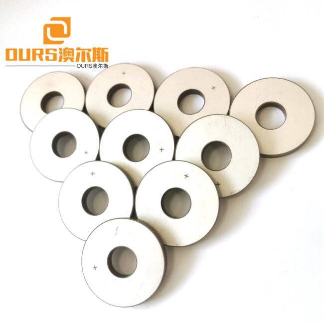 50*17*6.5mm Lead Zirconate Titanate Material Piezoelectric Ceramic Rings Used In Precision Motor