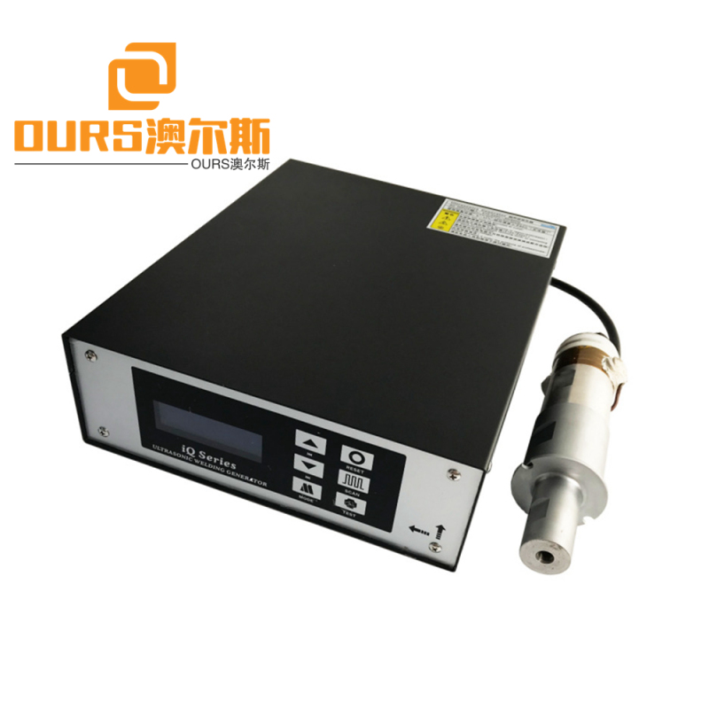 2000w 15khz face mask/mouth mask earloop ultrasonic welding generator and transducer