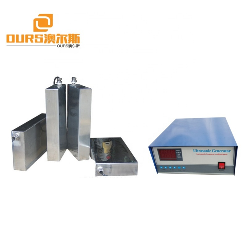 Factory Customized High Power 7000W Immersible Ultrasonic Transducer for Industrial Cleaning