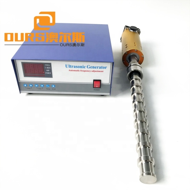 Biodiesel Reactor Ultrasonic Liquid Processor 20KHZ Titanium Alloy Material 1 Years Warranty