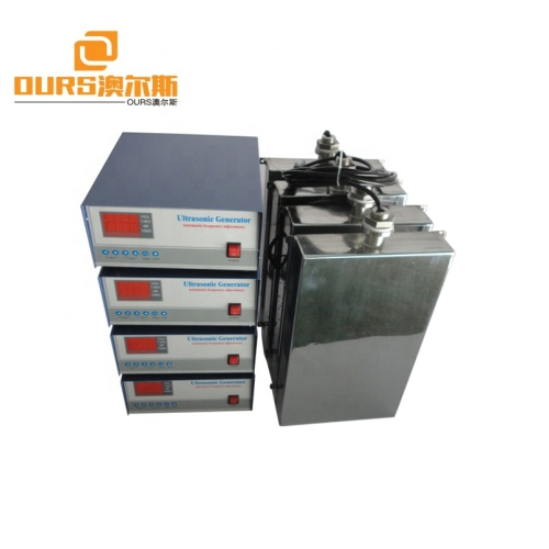 1200W Manufacturers order large-scale ultrasonic cleaning equipment High-power ultrasonic vibration plate input vibration plate