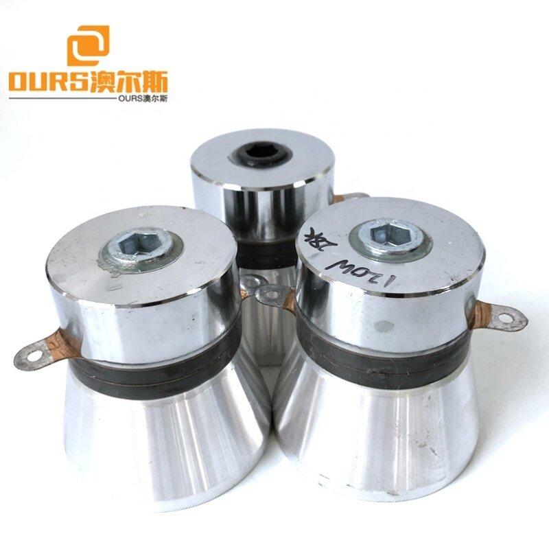 28K 120W 100W 60W 50W Vibration Power Ultrasonic Cleaning Transducer Used In Aerospace Equipment Oil Washing Machine
