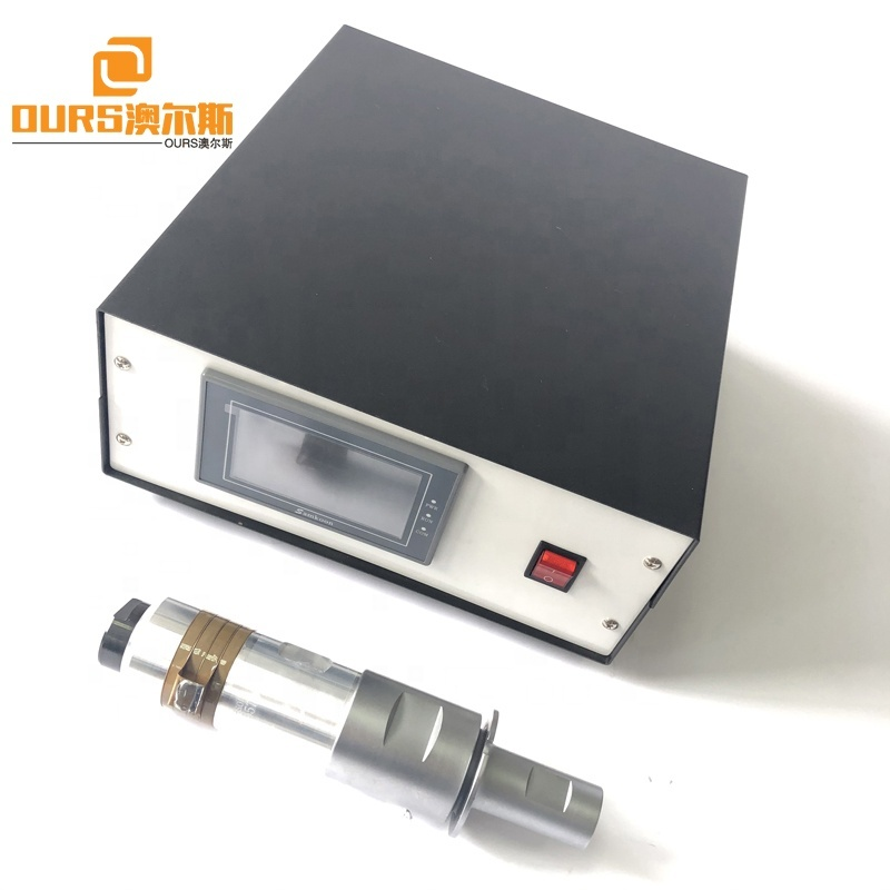 20KHZ Ultrasonic Welding Generator Work With Converter 110x20mm Horn For Mask Ear Loop Automatic  Welding Sealing