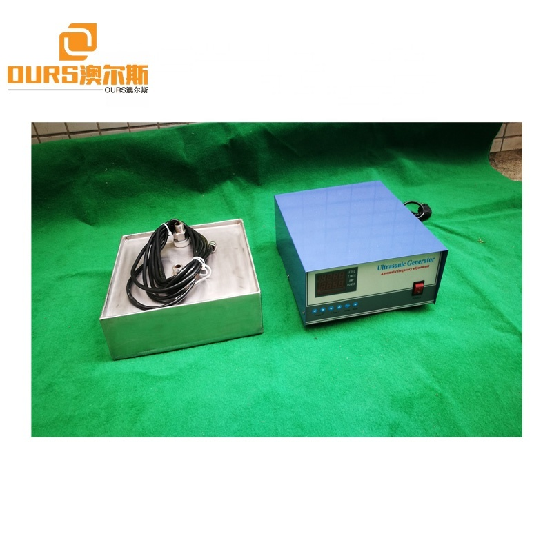 28KHZ 5000W High Power Ultrasonic Transducer Immersible Pack With Rigid Pipe And Generator For Cleaning And Degreasing