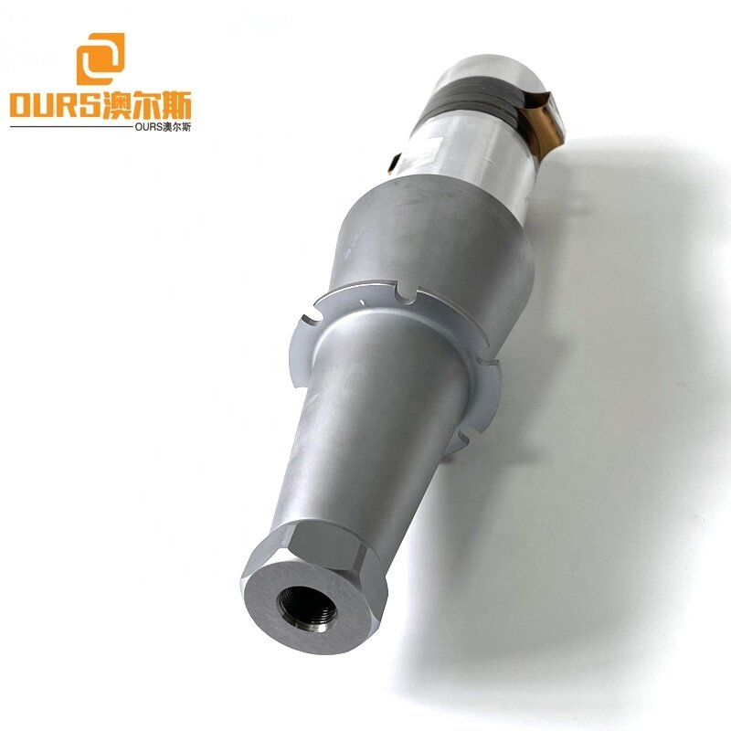 15K 2600W Piezoelectric Ultrasonic Welding Transducer Sensor And Booster For Industrial Plastic Non-wove Welding Machine