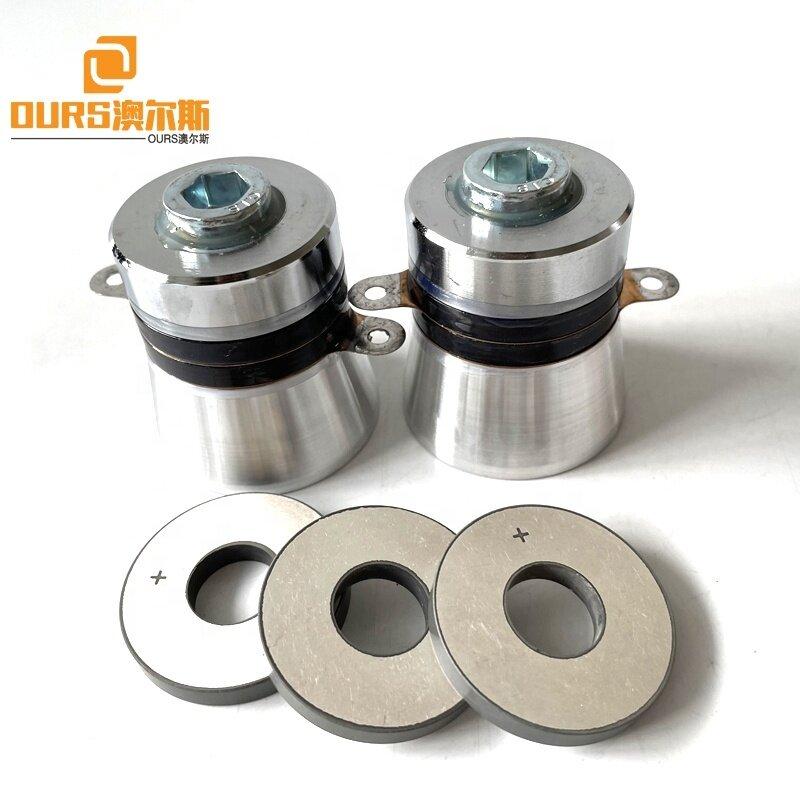 PZT4 PZT8 Material 38mm Ring Ultrasonic Transducer Piezoelectric Ceramic Materials