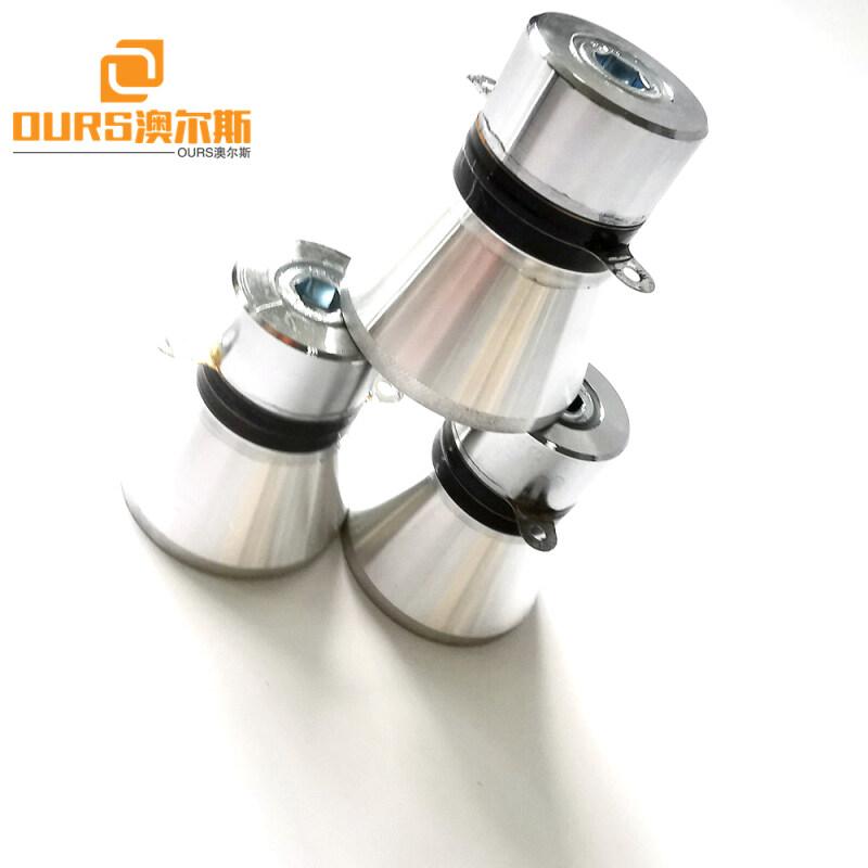 28khz 60w pzt4  60W Ultrasonic Piezo Transducer For Industry Ultrasonic Cleaner And Ultrasonic Dishwash