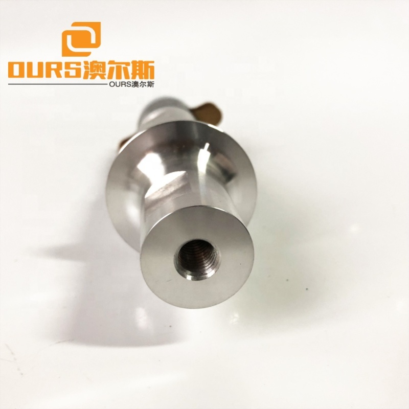 30K/500W Piezoelectric Transducer For Mechanical Ultrasonic Welding Machine For  Cutting Plastic