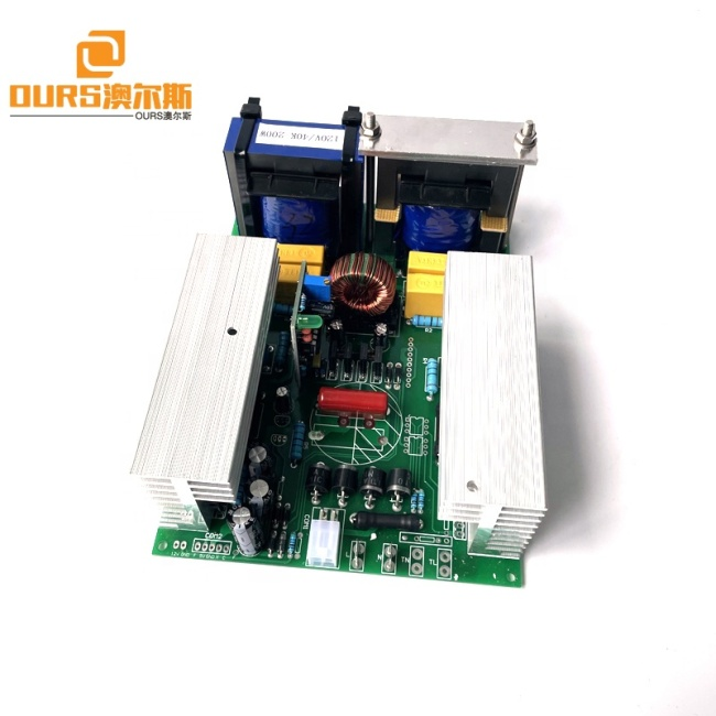 28KHZ/40KHZ 600W Factory Ultrasound Wave Generator Card For Driving Vegetable And Fruit Cleaning Machine