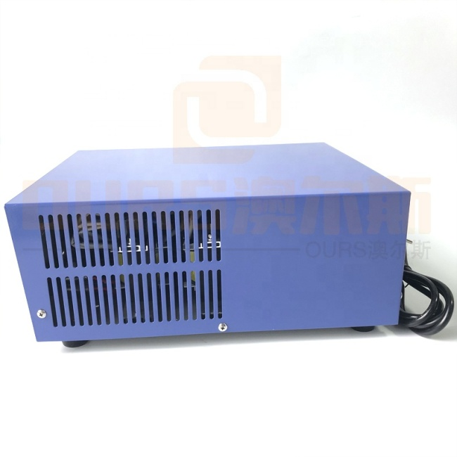Power/Time/Frequency Adjustable Industrial Ultrasonic Cleaner Generator 1000W Trnasducer Ultrasound Driving Power Supply