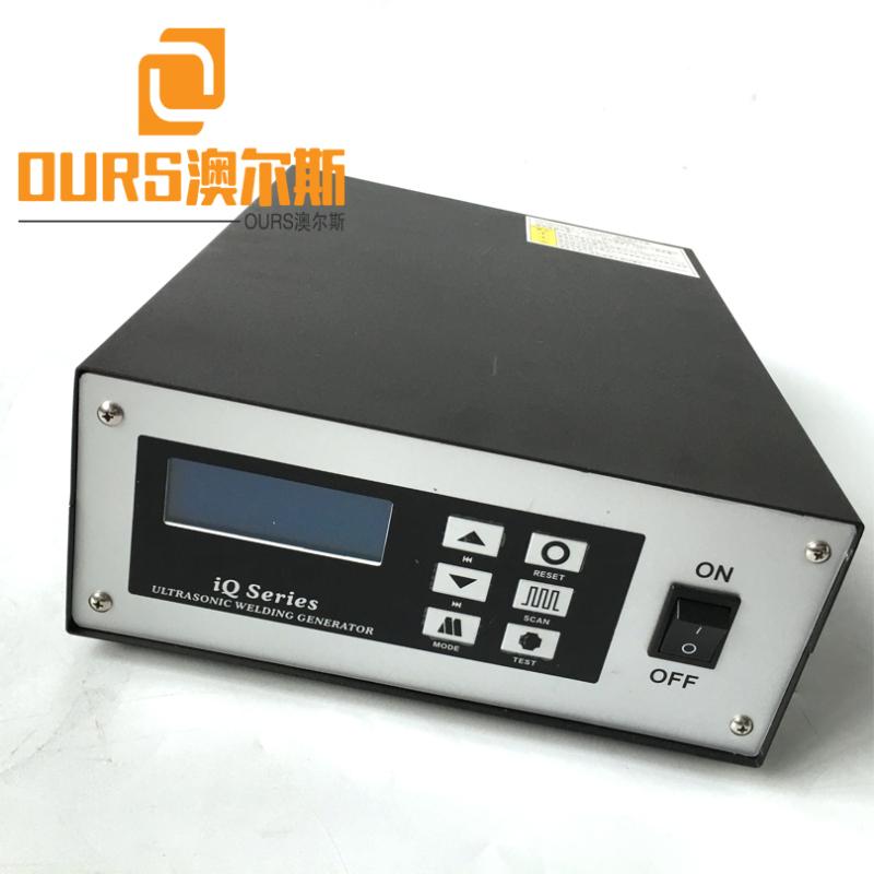 Factory Sales 20KHZ 2000W Ultrasonic welding generator and Transducer for Disposable Mask Nose Wire and Ear Loop Welding Machine