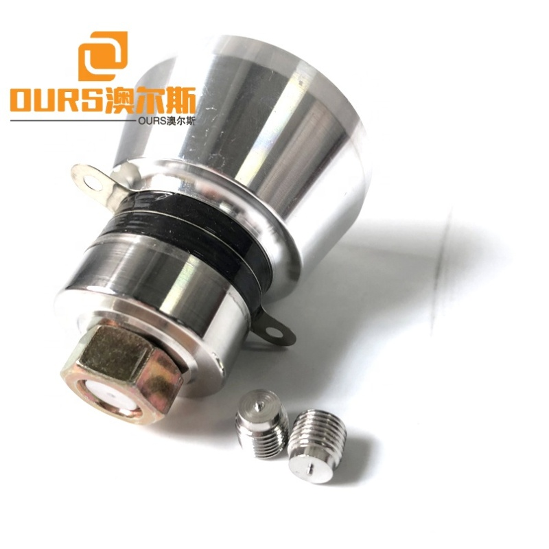 316 Steel Cleaner Tank Parts Ultrasonic Vibration Cleaning Transducer/Sensor 28K/50W Piezoelectric Cleaner Transducer Parts