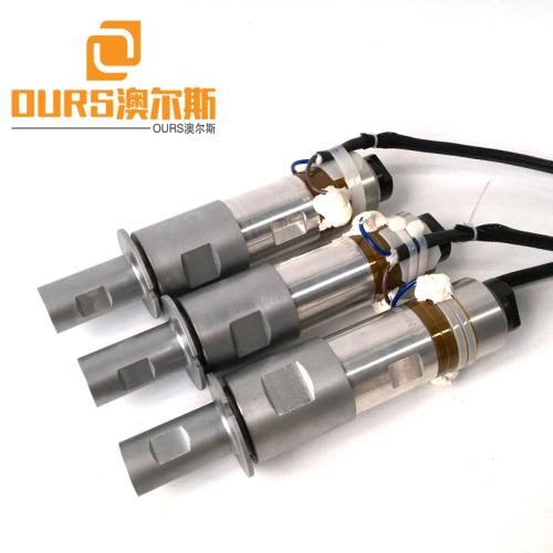 Factory Direct Sales ultrasonic transducer welding for Melt blown fabric welding